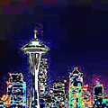 Seattle Skyline by Tim Allen