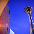 Seattle Space Needle by Joan McCool