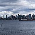 Seattle Sun Breaks by Tom Cochran