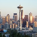Seattle Sunset by Gene Ritchhart