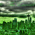 Seattle Washington - The Emerald City by David Patterson