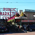 Seattle's Pike Place Market Center  by Candace Garcia