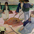 Seaweed Gatherers by Paul Gauguin