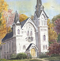 Second Congregational Church by Katherine  Berlin