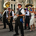 Second Line Wedding On Bourbon Street New Orleans by Kathleen K Parker