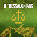 Second Thessalonians Books Of The Bible Series New Testament Minimal Poster Art Number 14 by Design Turnpike