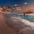 Secret Beach Greece by Mike Drosos