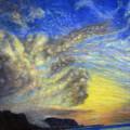 Secret Beach Sunset by Kenneth Grzesik