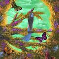 Secret Butterfly Garden by Alexandra Waites