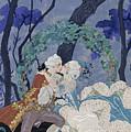 Secret Kiss by Georges Barbier