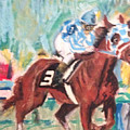 Secretariat 1973 by Michael Martone