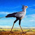 Secretary Bird by Anthony Mwangi