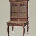 Secretary Desk by Eugene Croe