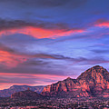 Sedona Arizona At Sunset by Eddie Yerkish