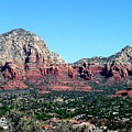 Sedona Arizona City Scape by Diann Fisher