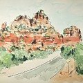 Sedona, Arizona by Maria Langgle