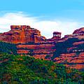 Sedona Arizona Red Rock by Jill Reger