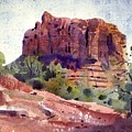 Sedona Butte by Donald Maier