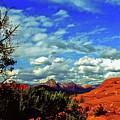 Sedona Capitol Butte by Gary Wonning