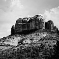 Sedona In Black And White by Katie Soper