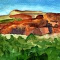 Sedona Landscape by Cindy Glazier