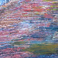 Sedona Mesa Strata  by Anne-Elizabeth Whiteway