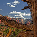 Sedona Mountains Arizona by Waterdancer