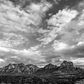 Sedona Red Rock Country Bnw Arizona Landscape 0986 by David Haskett II
