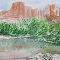 Sedona Reflections by Kathy Mitchell