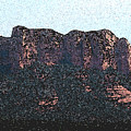 Sedona Rock Formation by Wayne Potrafka
