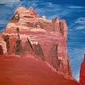 Sedona Sentinel  by Mary Beth Dolan
