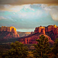 Sedona Sunset by The Follmers