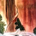 Sedona's Waterfall by Ofelia Uz