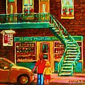 Segal's Fruit And Variety Store by Carole Spandau
