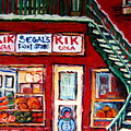 Segal's Market St.lawrence Boulevard Montreal by Carole Spandau