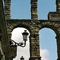 Segovia Aqueduct by Alynne Landers