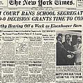 Segregation Headline, 1954 by Granger