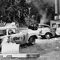 Segregationist Riot At Old Miss. Burned by Everett