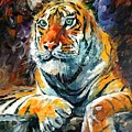 Seibirian Tiger  by Leonid Afremov