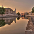 Seine River In Morning, Paris by Stéphanie Benjamin