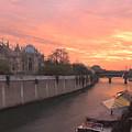 Seine River by Mick Burkey