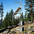 Seismological Station by Inga Spence