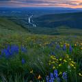 Selah Sunset by Mike  Dawson
