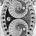 Selenic Shadowdial, Lunar Chart, 1646 by Wellcome Images