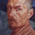 Self 2 1926-1927 Kuzma Sergeevich Petrov-vodkin by Eloisa Mannion
