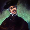 Self Portrait A La Rembrandt by Angela Treat Lyon