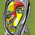 Self Portrait by C Baum