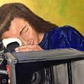 Self Portrait by Diane Donati
