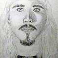 Self-portrait Drawing by Timothy Michael Foley
