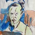 Self-portrait by Franz Nolken